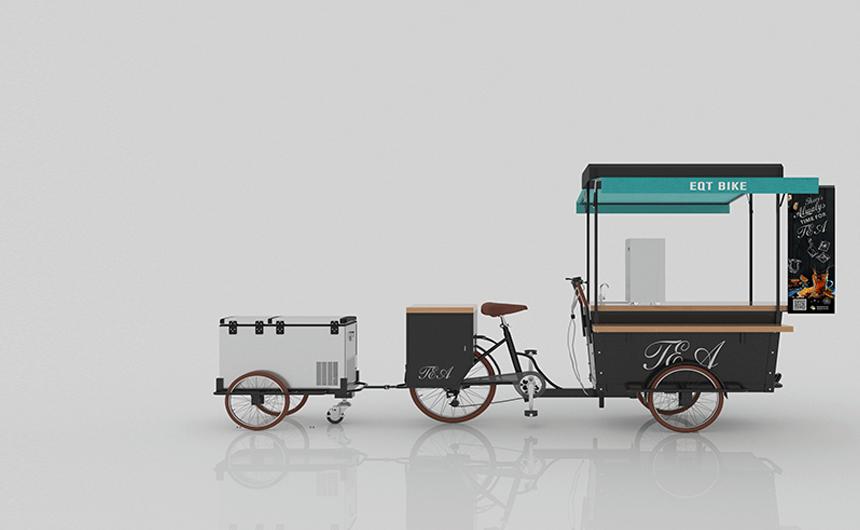 EQT Food Bike Is A Mature, Very Attractive Model.