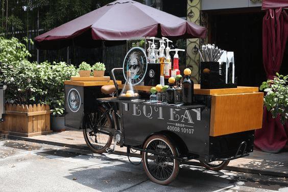 EQT Vending Trikes