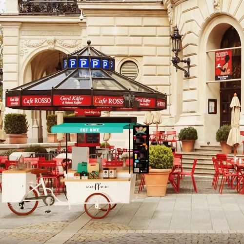 Customize Your First Mobile Vending Bike