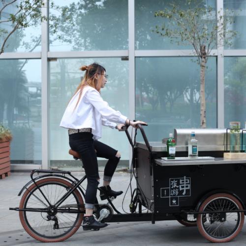 Food Bike Opens New Opportunities